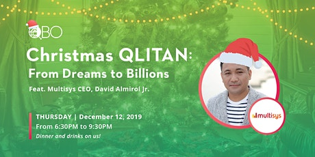 QLITAN: From Dreams to Billions  Feat. Multisys CEO Dave Almirol Jr.   tickets