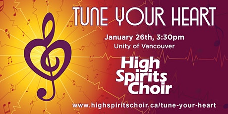 Tune Your Heart - High Spirits Choir January Concert tickets