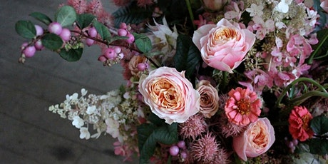 Hand-tied bouquet workshop tickets