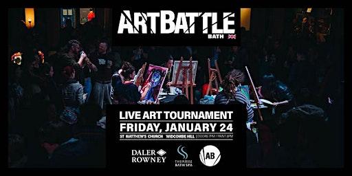 Art Battle Bath - 24 January, 2020