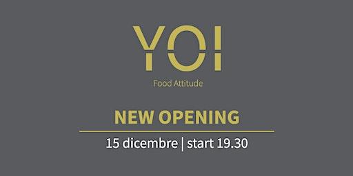 Inaugurazione Yoi Food Attitude