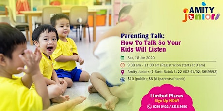 How To Talk So Your Kids Will Listen tickets