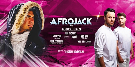 Afrojack invites DubVision at Malaysia, Val Thorens [FR] tickets