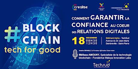 MASTERCLASS #blockchain Garantir la confiance dans nos relations digitales billets