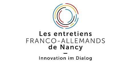 Entretiens franco-allemands de Nancy 2020 billets