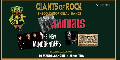 THE ANIMALS - THE NEW MINDBENDERS - CCR ALL STAR LINEUP @ OUDSBERGEN
