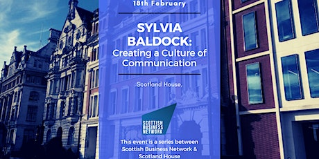 Creating a Culture of Communication, with Sylvia Baldock: Members Only tickets