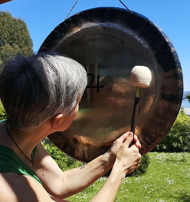 Gong & Crystal Harp Ancient Sound Meditation image
