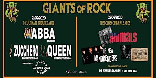 GIANTS OF ROCK COMBITICKET OUDSBERGEN 21+22 FEBRUARI 2020