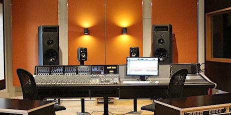 Schnupper-Workshop am Open Day: Einführung in die Tonproduktion im SSL Studio tickets