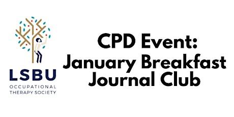 January Breakfast Journal Club tickets