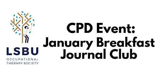 January Breakfast Journal Club