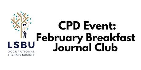 February Journal Breakfast Club tickets