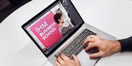 Välkommen på informationsmöte om IHM:s utbildningar parallellt med jobb. tickets