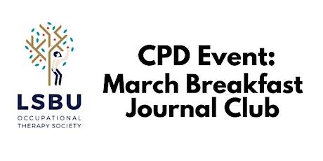 March Breakfast Journal Club tickets