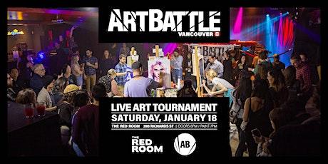 Art Battle Vancouver - January 18, 2020 tickets