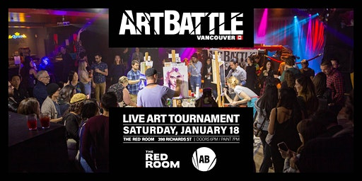 Art Battle Vancouver - January 18, 2020
