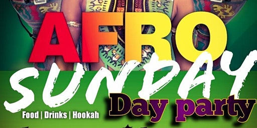 AFRO SUNDAY DAY PARTY