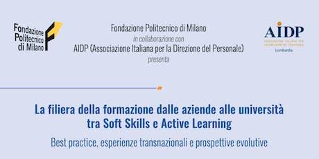 eLene4Life - La filiera della formazione dalle aziende alle università  tra Soft Skills e Active Learning biglietti