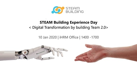 Steam Building Experience Day - Digital Transformation by Team Building 2.0 tickets