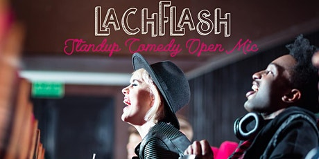 Lachflash Stand Up Comedy Open Mic #21 tickets