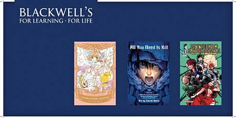 Blackwell's Manga Book group tickets