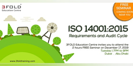FREE Seminar: ISO 14001:2015 Requirements and Audit Cycle tickets