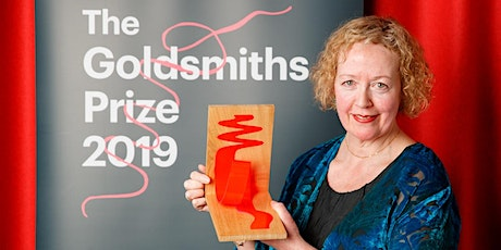 Lucy Ellmann winner of the Goldsmiths Prize 2019 tickets