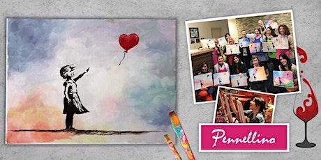 Paint like Banksy - evento di pittura social! biglietti