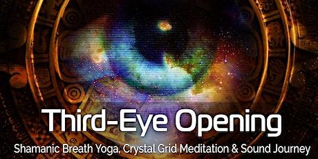 Shamanic Breath Yoga: Third-Eye Opening with Crystal Grid tickets
