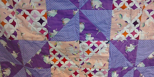 Intermediate Machine Patchwork – Carnival Glass Quillow - PART ONE