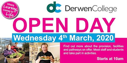 Derwen College Open Day - Weds 4th March 2020