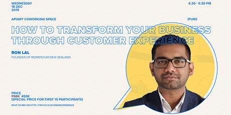 How to Transform Your Business Through Customer Experience tickets