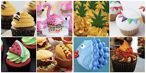 Fondant Fun - Summer Cupcakes Decorating Workshop (GF available)