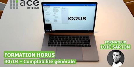 Formation Horus - Comptabilité générale tickets
