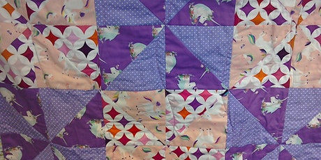 Intermediate Machine Patchwork – Carnival Glass Quillow - PART TWO tickets