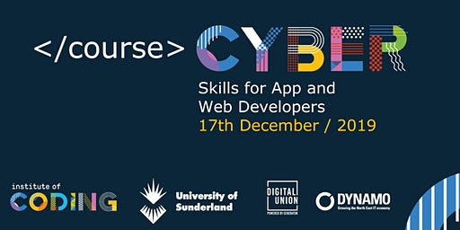 Cyber Skills for App and Web Developers