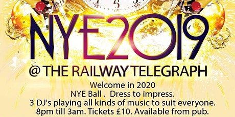 Railway Telegraph NYE Extarvaganza tickets