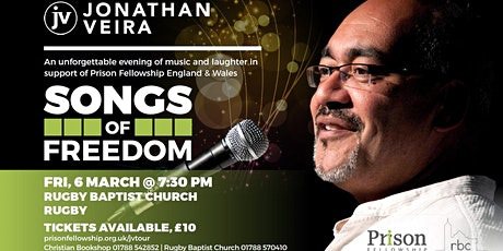 Songs of Freedom with Jonathan Veira, Rugby tickets