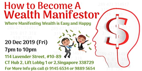 How To Become A Wealth Manifestor? tickets