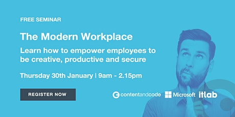 The Modern Workplace tickets