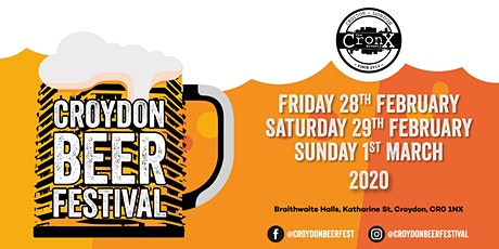 Croydon Beer Festival 2020 tickets