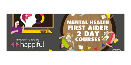 Basingstoke  - Mental Health First Aider 2 Day Course tickets