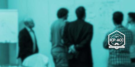 ICAgile Certified Agile Coaching (ICP-ACC) - Porto bilhetes