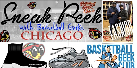 Basketball Geek Club Sneaker Peak Convention Experience tickets