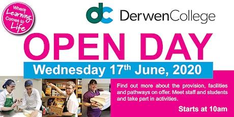 Derwen College Open Day - Wednesday 17th June 2020 tickets