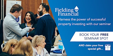 FREE Property Investing Seminar - LONDON EUSTON - The Wesely Euston, London tickets