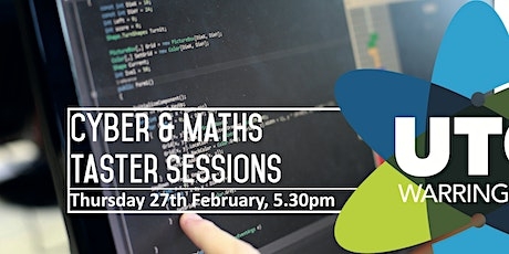 Cyber & Maths Taster Sessions tickets