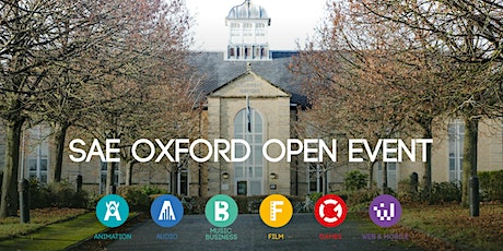 SAE Oxford Open Event tickets