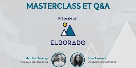 Panorama des financements - Eldorado billets